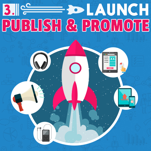 Launch 3 Publish Promote