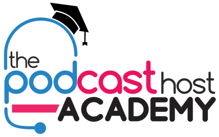 The Podcast Host Academy Full Logo