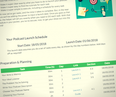 Launch Calendar screenshot