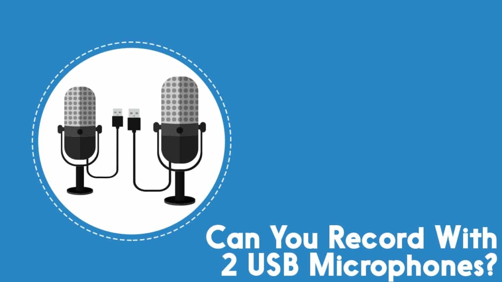 Record with 2 USB microphones