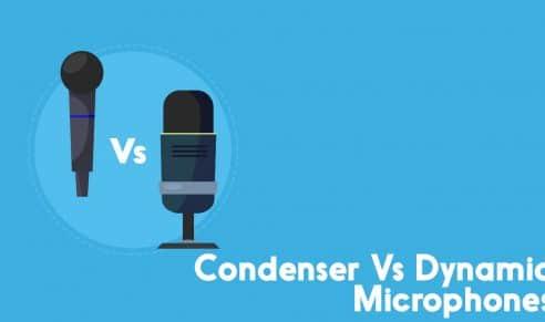 condenser vs dynamic microphones