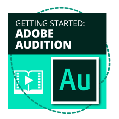 Getting started with Abobe Audition