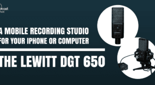 A Mobile Recording Studio for your iPhone or Computer - The Lewitt DGT 650