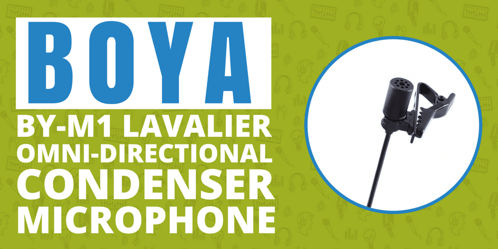 BOYA BY-M1 Lavalier Omni-directional Condenser Microphone | A Podcasting Review