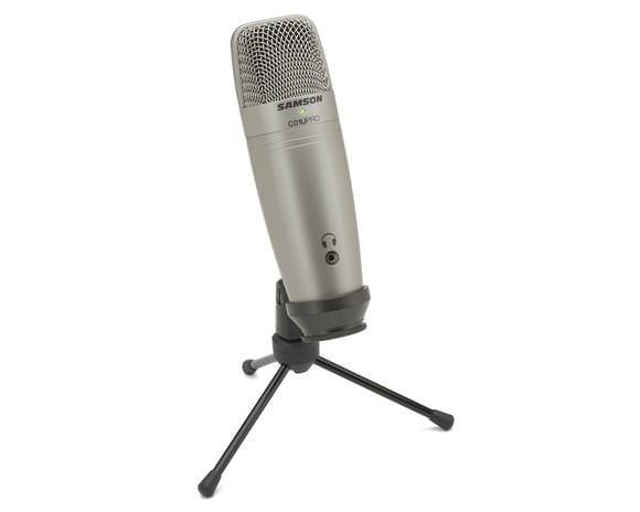 Samson C01U Pro Podcast Set mit USB-Kondensatormikrofon