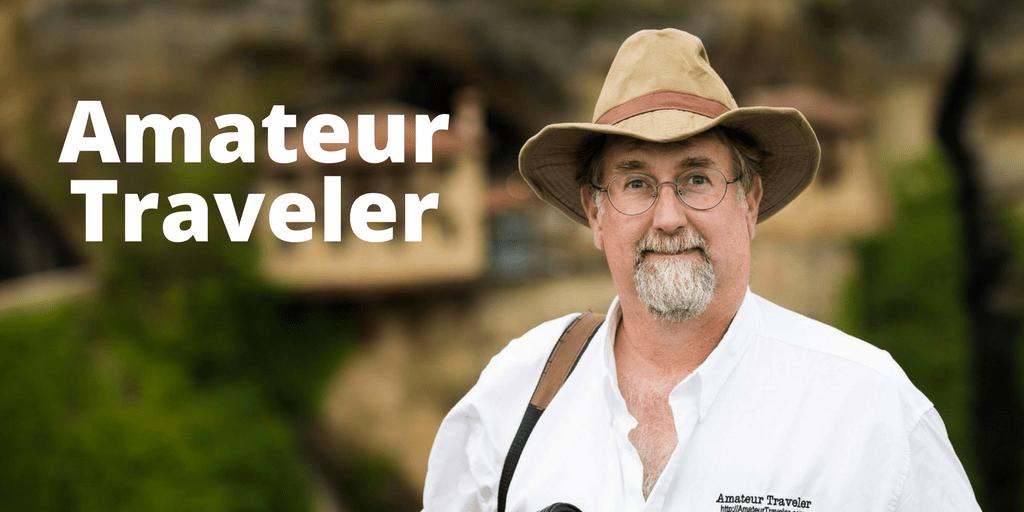 Chris Christensen from Amateur Traveler- Podcaster Showcase