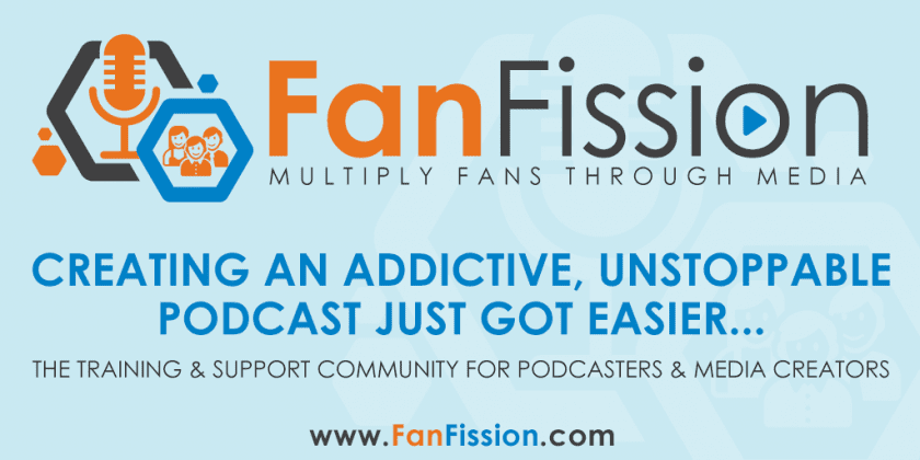 FanFission Podcast community
