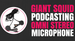 Giant Squid Podcasting Omni Stereo Microphone