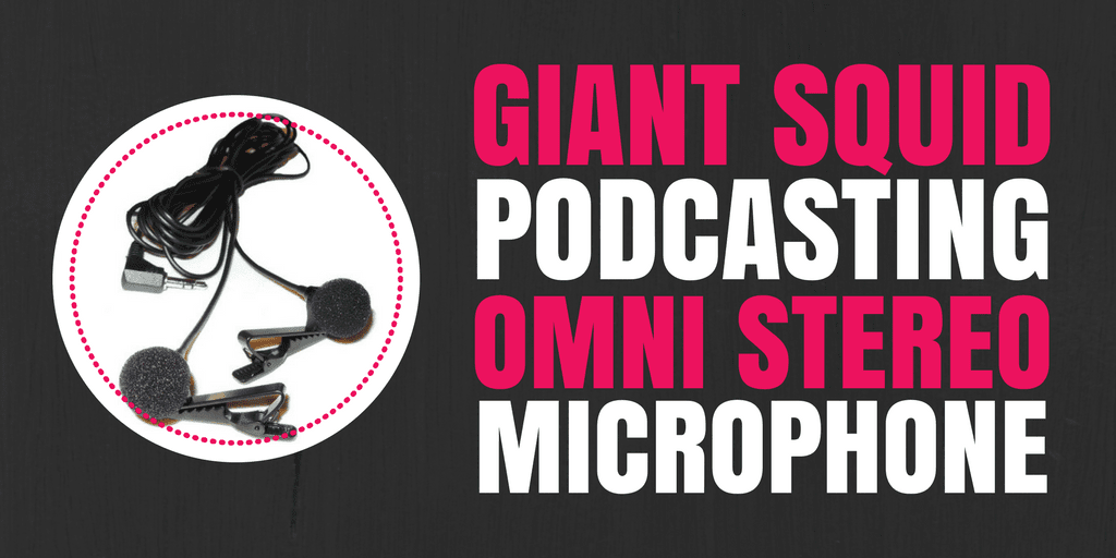 Giant Squid Podcasting Omni Stereo Microphone: A Lavalier Solution for Interviews & Co-Hosts