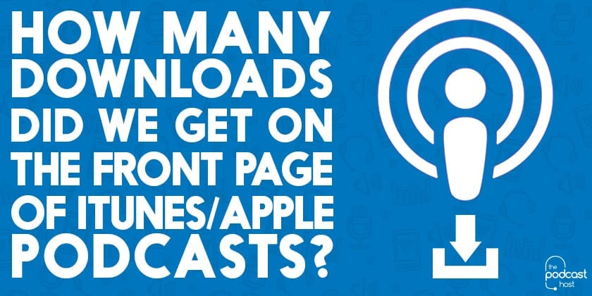 Downloads from Apple Podcasts