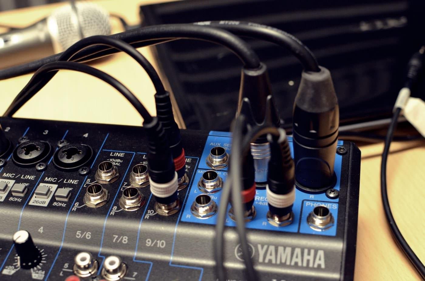 Yamaha MG10 Mixer | A Podcasting Review