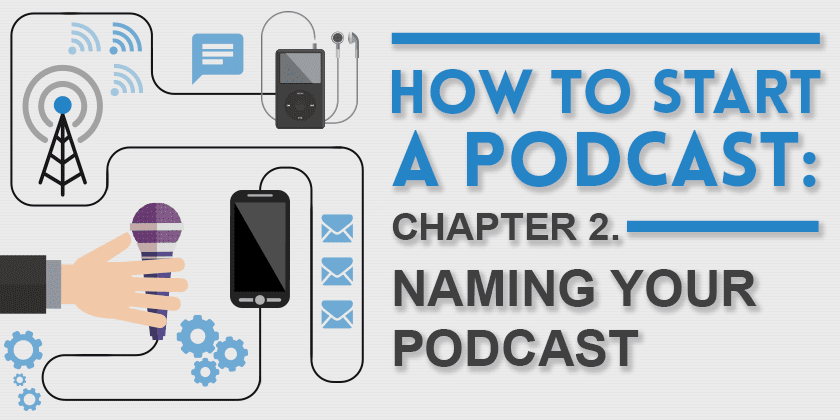 How to start a podcast: Naming Your Podcastt