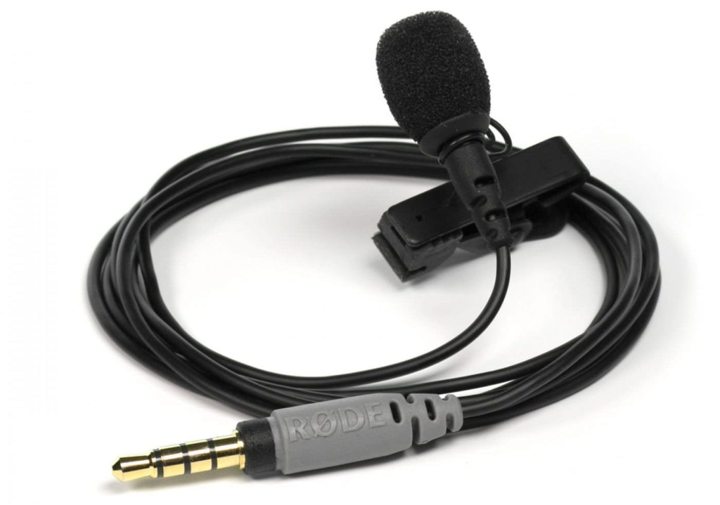 Rode Smartlav Plus lavalier podcast microphone