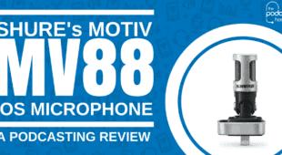 Shure Motiv MV88 ios microphone