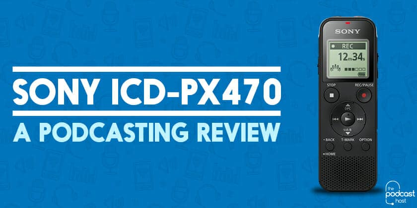 Sony ICD-PX470 Header