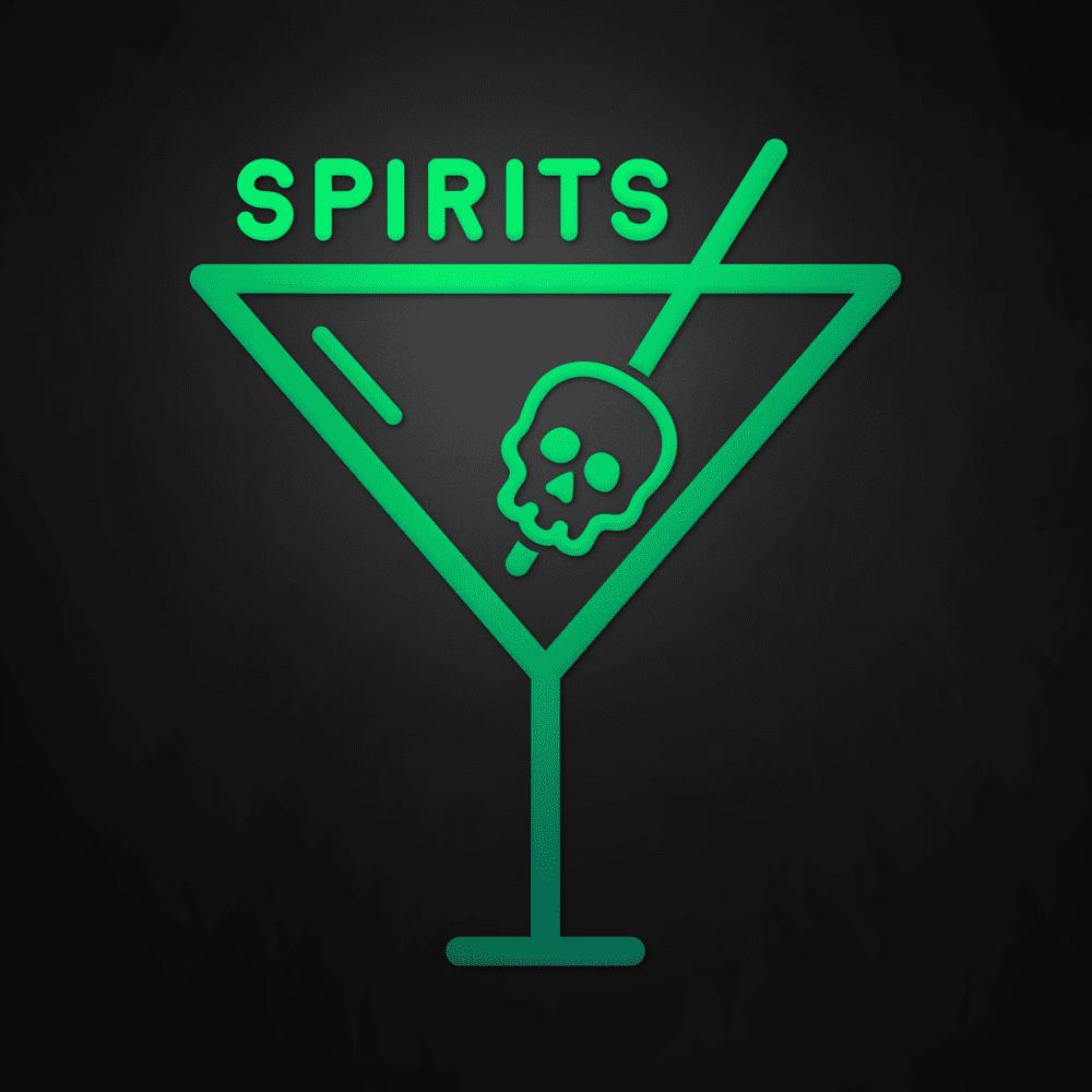 Spirits Podcast Logo