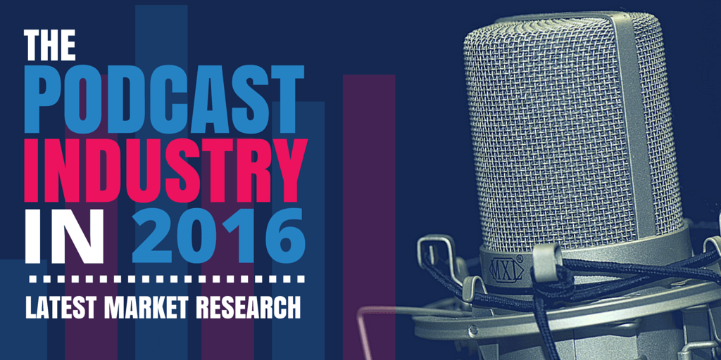 The Podcast Industry in 2016 - latest market research