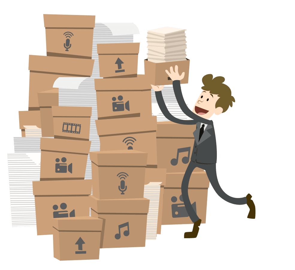 the content stacking model