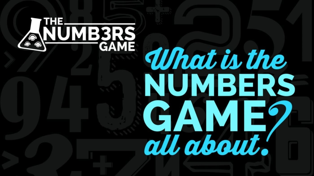What is the numbers game about?