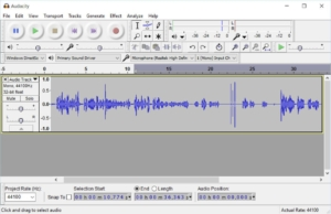 Click editing: podcast post production