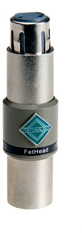 Triton fethead for podcasting