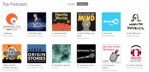 Hostile Worlds Top Podcasts