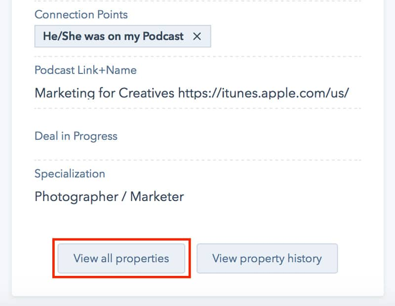 How to manage the podcast guest information