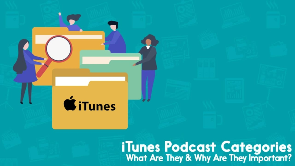 itunes podcast categories