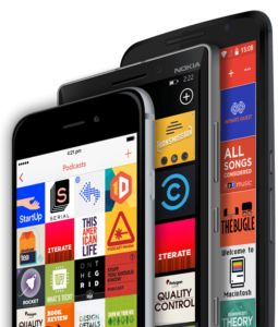 Pocket Casts Podcast app