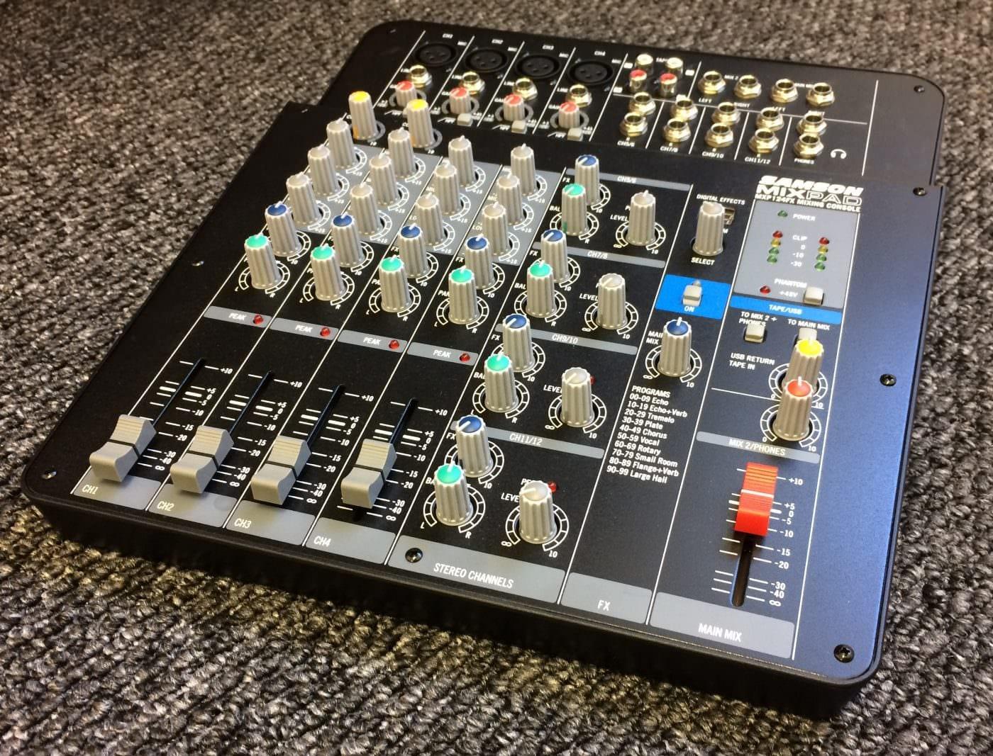 mixer samson mxp