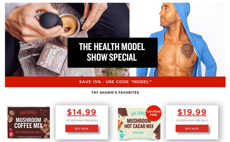 Model Health Show Sponsor