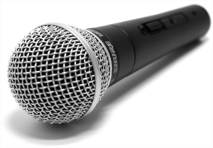 shure sm58 podcasting interviews