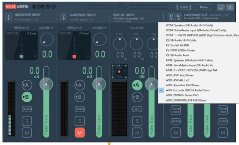 Voicemeeter Skype - double ender recording
