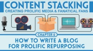 how to write a blog for prolific repurposing