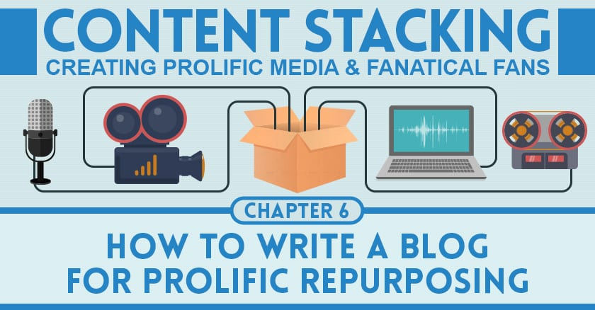 How to Write a Blog for Prolific Repurposing | Content Stacking #6