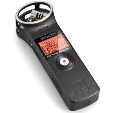 A Picture of a Zoom Recorder, used for Recording Live Music