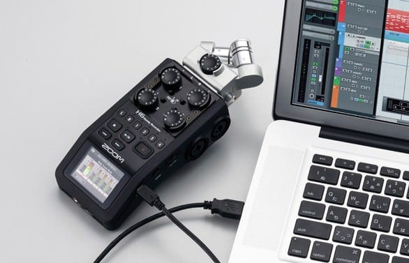zoom h6 digital recorder for podcasting