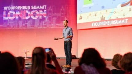 colin speaking at youpreneur summit