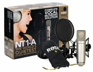 Rode NT1-A podcast microphone