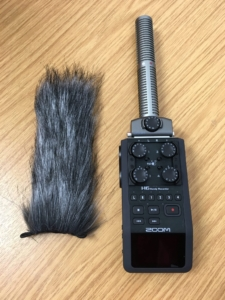 Zoom SSH-6 on Zoom H6 with hairy windjammer