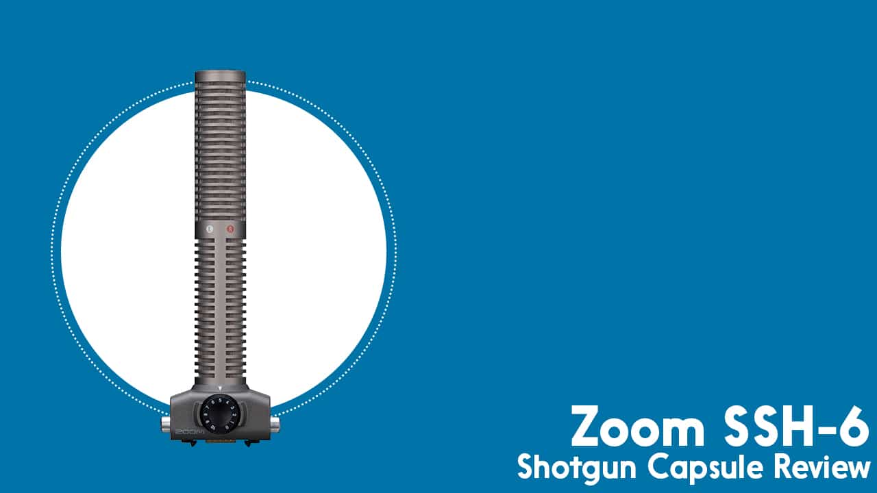Laser Focused Podcast Recording, with the Zoom SSH-6 Shotgun Capsule