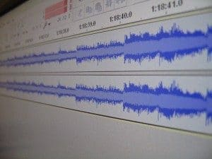 Audio editing software for podcasting