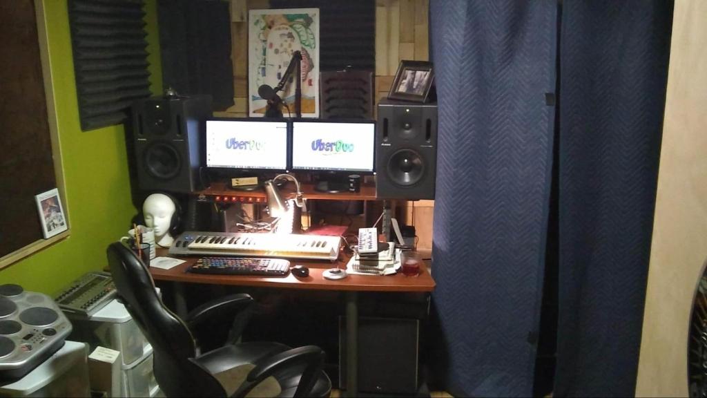 sound blanket in studio