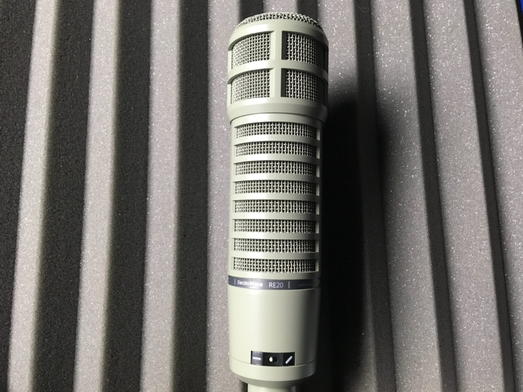 Electro-Voice-RE20 dynamic microphone