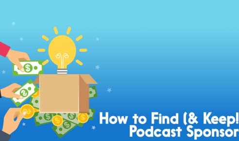 how to find podcast sponsors