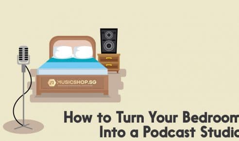 Turn your bedroom into a podcast studio