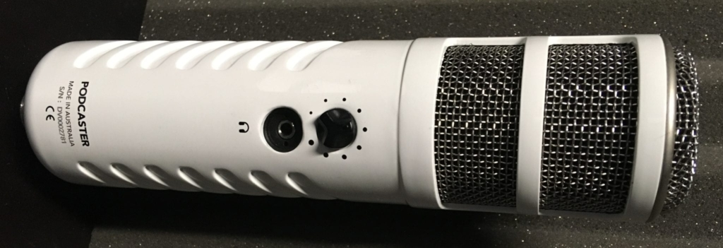 Rode Podcaster best high quality podcast microphone