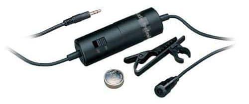Audio-Technica ATR3350 Condenser Lavalier Microphone