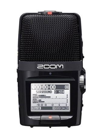 Zoom H2n for double-ender recordings
