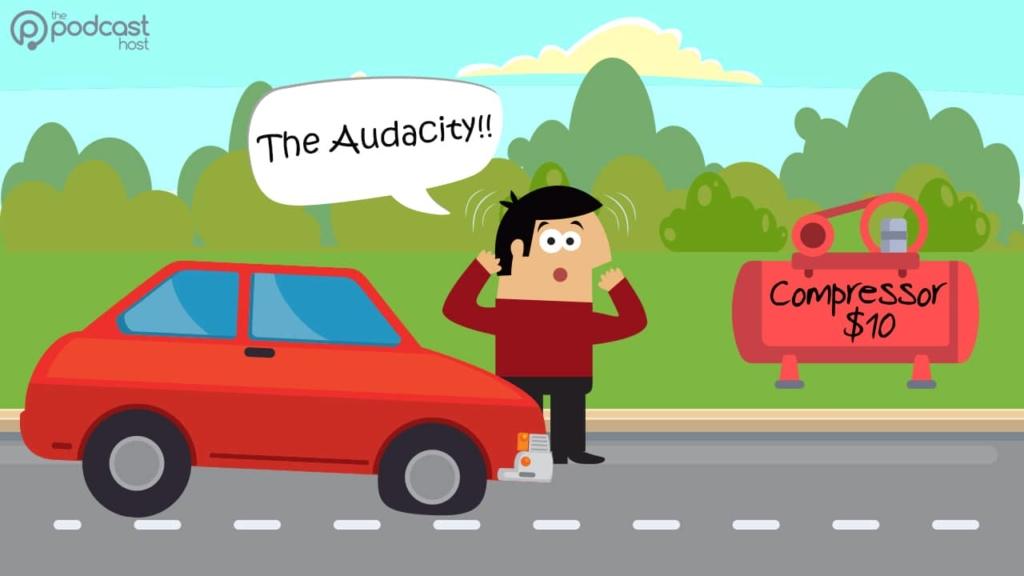 The Audacity Compressor - the podcast glossary